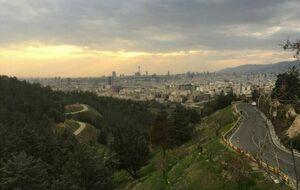قاب تهران از فراز لویزان+عکس