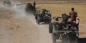 الحشدالشعبی شبکه تونلی داعش را منهدم کرد