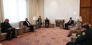 عکس/ دیدار سرلشکر باقری با بشار اسد