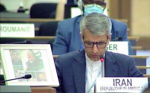 اسماعیل بقایی هامانه سفیر و نماینده دائم جمهوری اسلامی ایران در ژنو