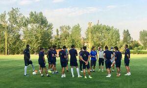 ۱۲ بازیکن کرونایی استقلال که در تمرین غیبت داشتند