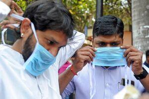 فیلم/ جریمه میلیونی برای ماسک نزدن در هند