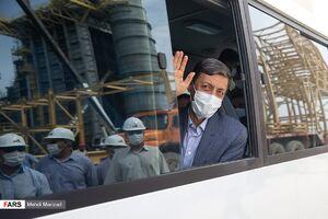 عکس/ بازدید فتاح از نیروگاه برق حرارتی چابهار