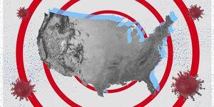 رکوردشکنی پیدرپی آمریکا در ابتلای روزانه به کرونا