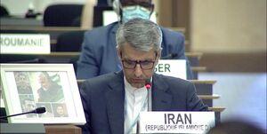 هیچ کدام از حاضران در شورای حقوق بشر از ترور سردار سلیمانی حمایت نکردند