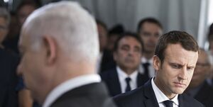 درخواست ماکرون از نتانیاهو درباره طرح اشغال