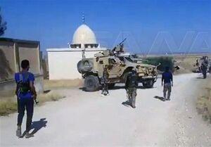 اقدام بازدارنده ارتش سوریه علیه نظامیان تروریست آمریکایی