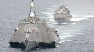 بازنشستگی سریع «ناوهای گرانقیمت آمریکا» که هدفشان مهار شناورهای تندرو سپاه بود/ وقتی LCS ایالات متحده با خشاب خالی به ماموریت میرود! +عکس
