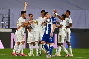 رئال مادرید به قهرمانی در لالیگا نزدیکتر شد