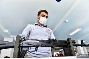 عکس/ ساخت AK-103 در ارمنستان