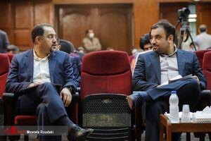 تصاویری از حضور رسول سجاد و محسن صالحی از مدیران سابق بانک مرکزی در دادگاه امروز