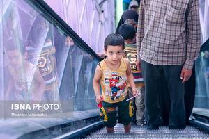 عکس/ کودکان در برابر کرونا مصون نیستند