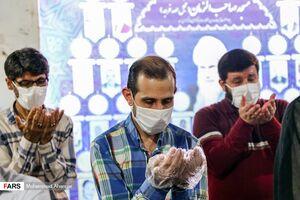 عکس/ نماز جماعت مساجد اهواز در وضعیت زرد