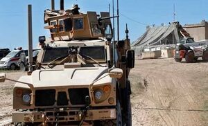 حمله به کاروان نظامیان آمریکا در دیوانیه عراق +عکس و فیلم
