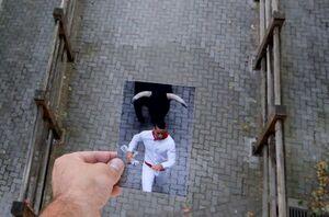 عکس/ تاثیر کرونا بر جشنواره معروف اسپانیا