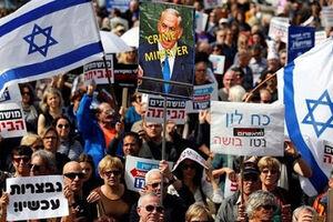 فیلم/ تظاهرات مجدد علیه سیاستهای نتانیاهو