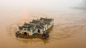 تصاویر جدید از خسارت سیل در چین