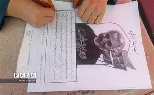 دلنوشته یک دانشآموز درباره «حاج قاسم»: تو نور خاکِ مظلومِ دمشق بودی!