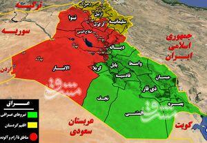 آخرین خبرها از دروازه شمالی پایتخت عراق/ آغاز عملیات علیه بقایای داعش در غده سرطانی بغداد + نقشه میدانی و عکس