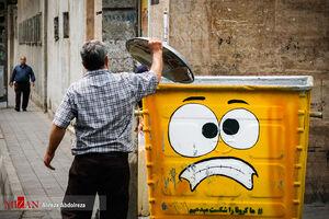 عکس/ ابتکار ضد کرونایی شهرداری
