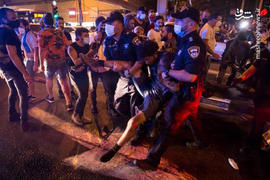 فیلم/ شب گذشته در تل آویو چه گذشت