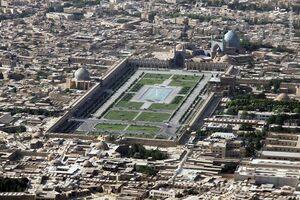تصویر هوایی دیدنی از اصفهان