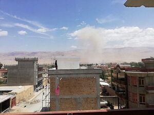 عکس/ انفجار مهیب در افغاستان