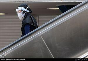 عکس/ بدون ماسک وارد مترو نشوید