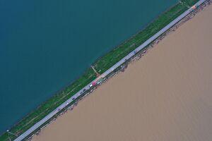 عکس/ زندگی ۳۸ میلیون چینی مختل شد