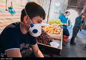 عکس/ استفاده اجباری از ماسک در تبریز