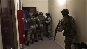 عکس/ بازداشت تروریستهای داعش در روسیه