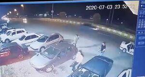 فیلم/ حمله خشن اراذل و اوباش به یک رستوران