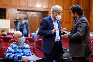 عکس/ دادگاه اتهامات اکبر طبری
