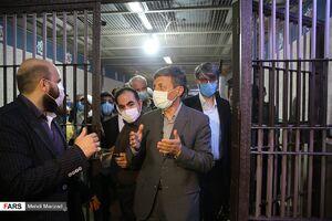 عکس/ بازدید فتاح از زندان بزرگ تهران