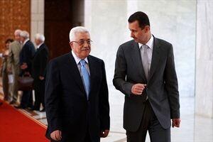 محمود عباس بشار اسد