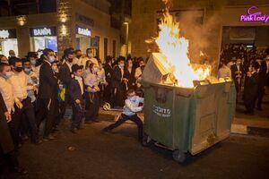 عکس/ اعتراض اسرائیلیها به وضعیت بد معیشتی