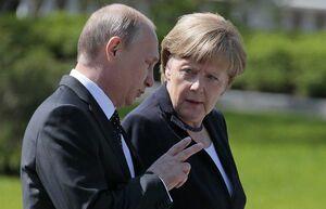 اقرار پوتین و مرکل بر «بینتیجه بودن» تحریمها علیه ایران