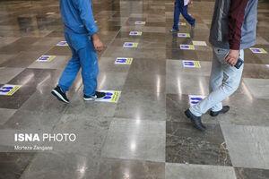 مترو اصفهان در روزهای اوج کرونا