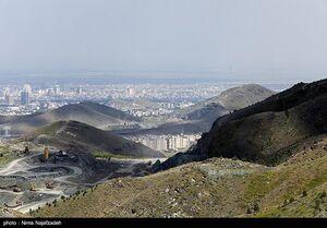 عکس/ کوه پارک در ارتفاعات جنوبی مشهد