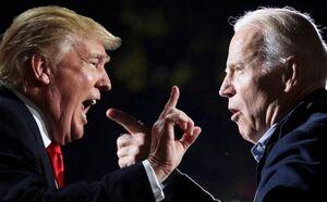 جو بایدن و ترامپ