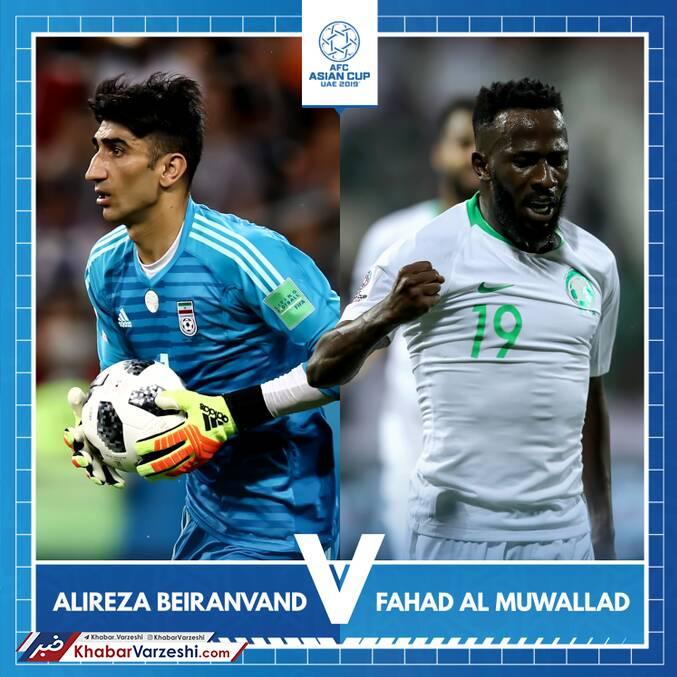 عکس| رقابت بیرانوند با ستاره عربستانی در نظرسنجی AFC
