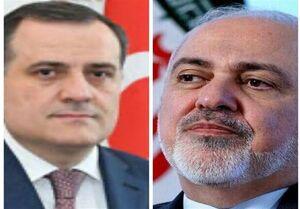 گفتگوی تلفنی ظریف و وزیر خارجه جدید جمهوری آذربایجان