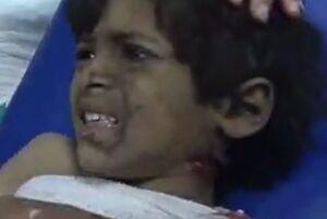 جنایت سعودی ضد زنان و کودکان یمنی