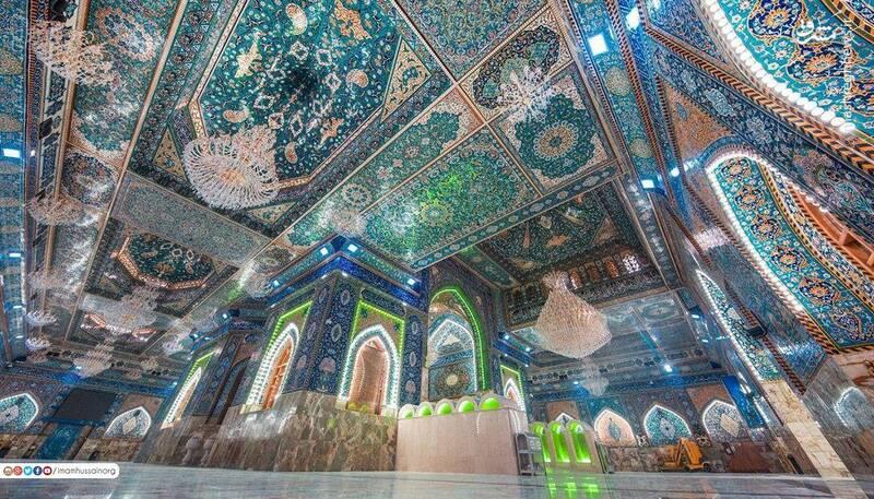 خیمگاه حسینی به روایت تصویر