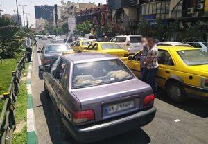 کرونا هم مانع مسافرکشی خودروهای پلاک شهرستان در پایتخت نشد