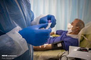 عکس/ بخش اهدای پلاسما در بیمارستان بقیه الله
