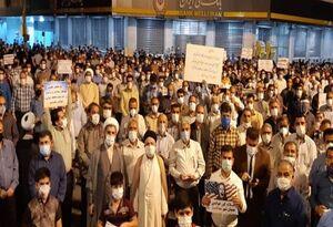 تجمع مردم بهبهان در محکومیت هنجارشکنان +فیلم