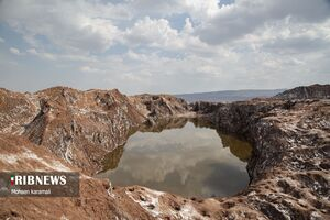 عکس/ تنها گنبد نمکی متقارن جهان