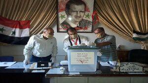 عکس/ آغاز انتخابات پارلمانی سوریه