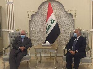 وزیر امور خارجه کشورمان وارد بغداد پایتخت عراق شد